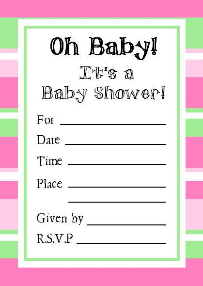 Baby Shower Crossword  Free Printable  AllFreePrintablecom